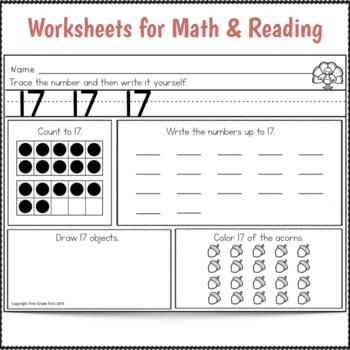 Sub Plans Kindergarten November Day 2