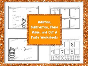 Sub Plans Kindergarten Thanksgiving