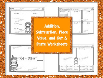 Full Day 2nd Grade Sub Plans Thanksgiving Theme