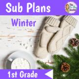 Winter Sub Plans 1st Grade