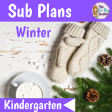Winter Sub Plans Kindergarten