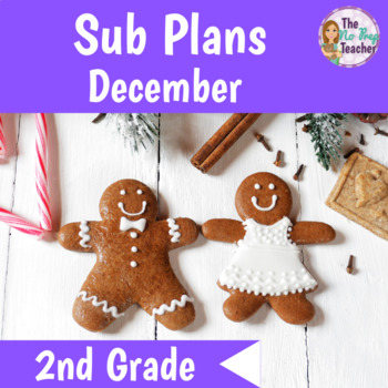 2nd Grade Sub Plans for a Full Day December
