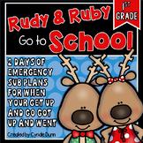 First Grade Sub Plans December