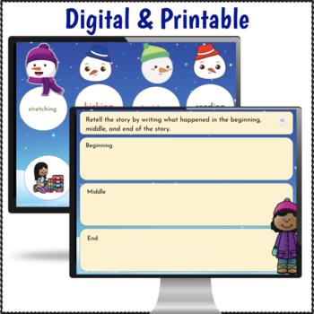 2nd Grade Sub Plans Snowman Theme