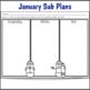 Sub Plans 2nd Grade January