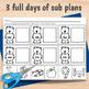 2nd Grade Sub Plans January