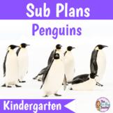 Penguins Sub Plans Kindergarten