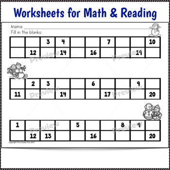 Sub Plans Kindergarten January Bundle