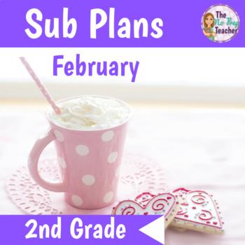 2nd Grade Sub Plans February