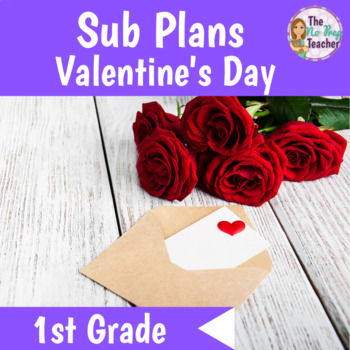 1st Grade Sub Plans Valentine's Day