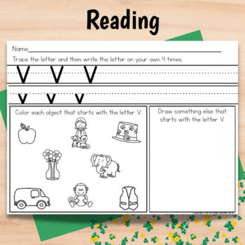 Kindergarten Sub Plans St. Patrick's Day