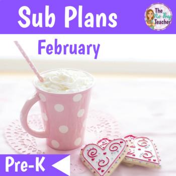 Sub Plans PreK February
