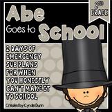 Second Grade Sub Plans February