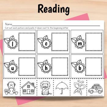Kindergarten Full Day Sub Plans Spring
