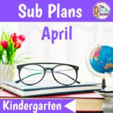 Sub Plans Kindergarten April
