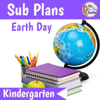 Kindergarten Sub Plans Earth Day