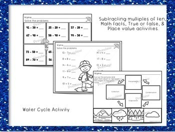 1st Grade Sub Plans Rainy Day