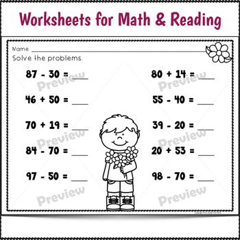 Sub Plans 1st Grade May