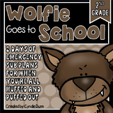 Second Grade Sub Plans Wolfie