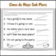 Cinco de Mayo Activities for 1st Grade Sub Plans