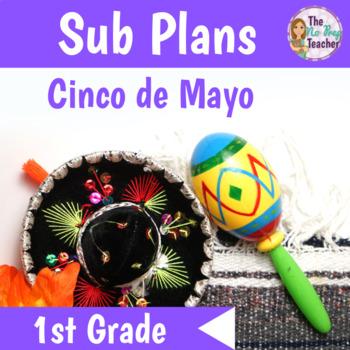 1st Grade Sub Plans Cinco de Mayo