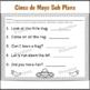 Kindergarten Sub Plans Cinco de Mayo