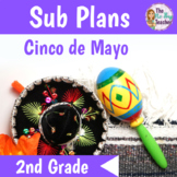 Cinco de Mayo Activities for 2nd Grade Sub Plans