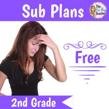 Sub Plans 2nd Grade Free