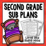 Sub Plans 2nd Grade Little Red Riding Hood
