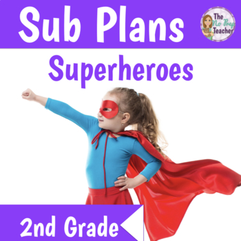 Sub Plans 2nd Grade 3 Full Days