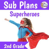 Sub Plans 2nd Grade 3 Full Days