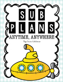 Sub Plans & Activities For the ENTIRE YEAR {Reusable & Editable Plans}