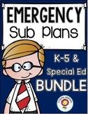 Sub Plans BUNDLE K-5