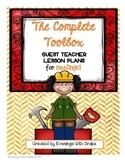 Sub Plans (Bundle)