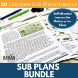 Sub Plans Bundle - Distance Learning