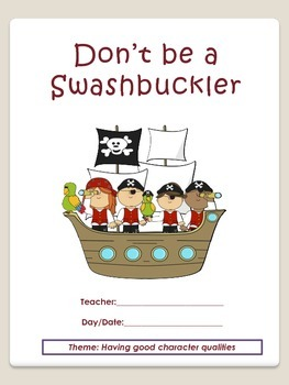 Sub Plans:  Don't be a Swashbuckler!