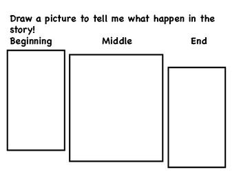 Sub Plans ELA Kindergarten