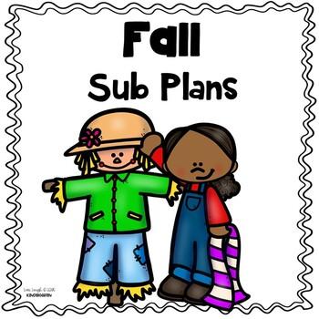 Sub Plans: Fall