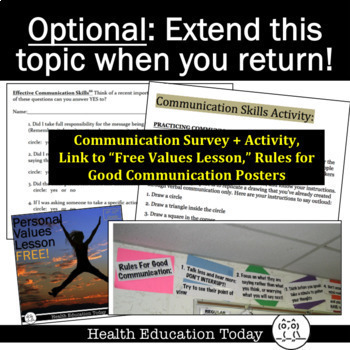 Sub Plans Assertiveness And Communication Skills