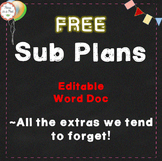 Free Sub Plans all the extras