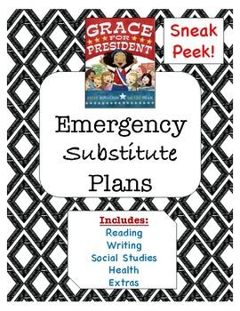 Sub Plans -Grace for President- Sneak Peek