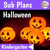 Sub Plans Kindergarten Halloween