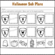 Sub Plans Kindergarten Halloween