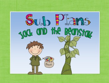 Sub Plans - Jack and the Beanstalk