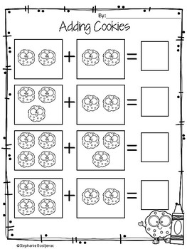 Sub Plans Kindergarten (Cookie Theme Day)