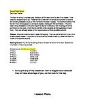 Sub Plans Letter Template