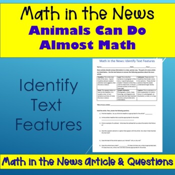 Math Reading Article