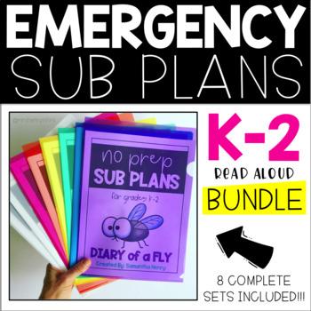 No Prep Sub Plans BIG Bundle