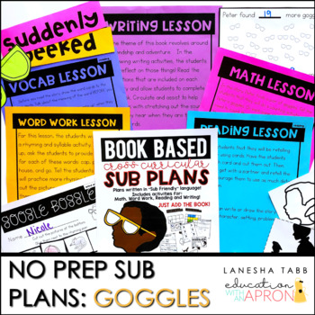 Sub Plans -NO PREP: Goggles