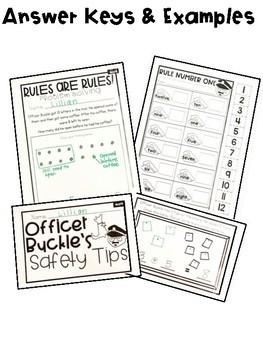 Sub Plans -NO PREP Gloria & Officer Buckle